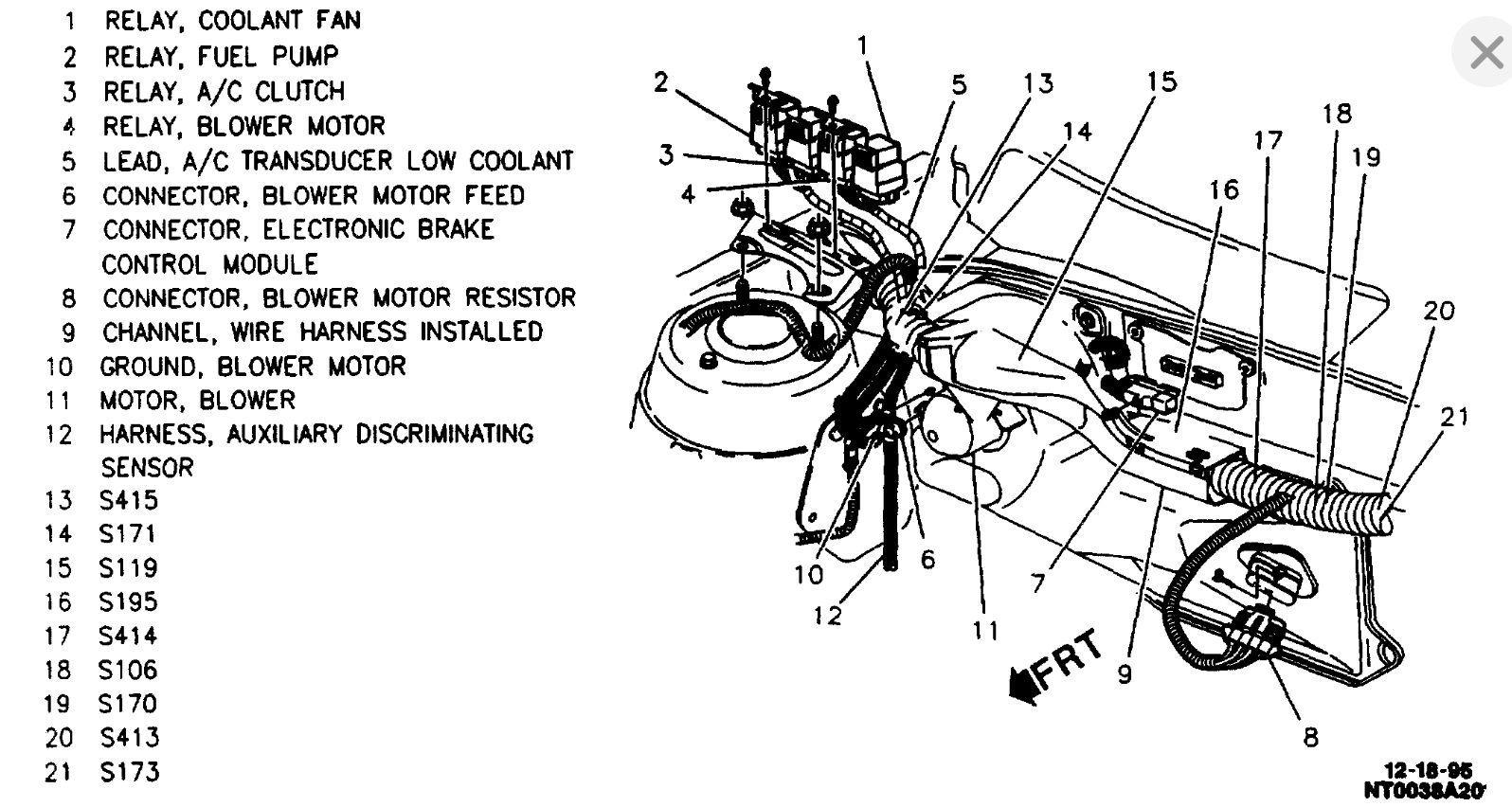 File: 1996 Pontiac Sunfire Fuel Pump Wiring Diagram
