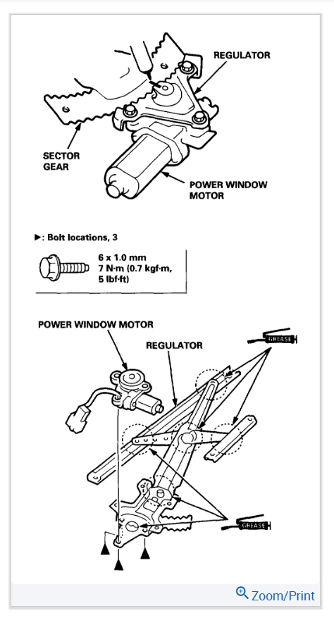 Drivers Side Power Window Not Working: the Power Window on