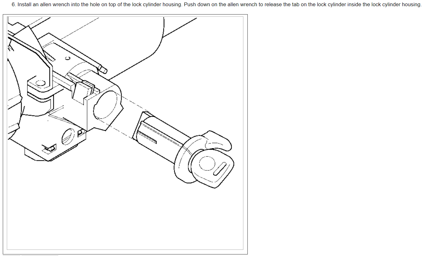 Ignition Key Problems When Trying To Remove The Key From