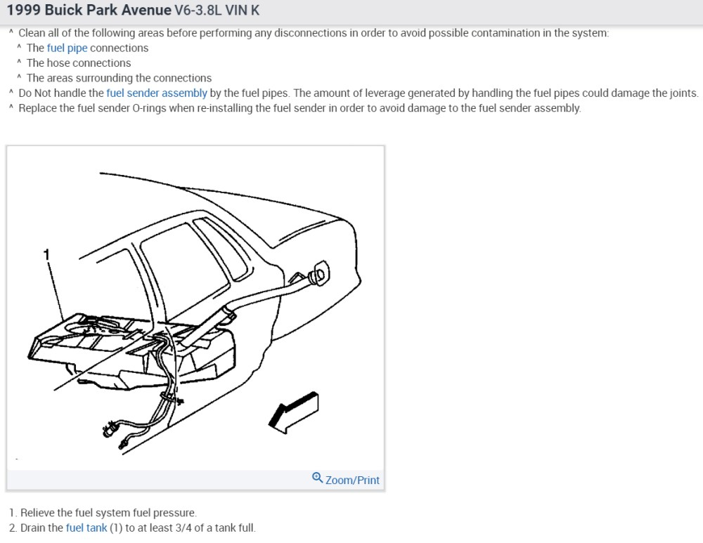 medium resolution of fuel pump replacement does this car have to have the tank taken the pump access or the sender access as shown in the diagram below