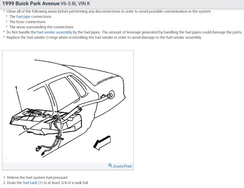 small resolution of fuel pump replacement does this car have to have the tank taken the pump access or the sender access as shown in the diagram below