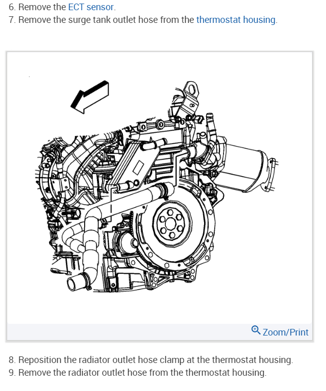 Thermostat Location: Where Is the Thermostat on a V6 Engine?