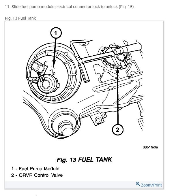 Fuel Filter Location: Hey Guys,i Have a 01 Stratus SE 2.4l