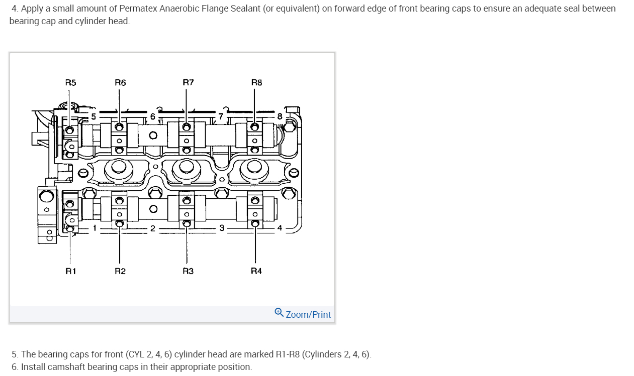 Torque Specs for Camshaft Bolts: Need Torque Specs for