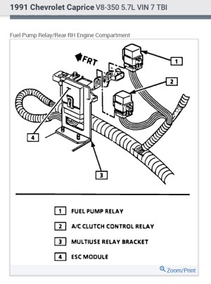 Fuel Pump Relay: I Have Looked Over the Car Very Carefully and Can