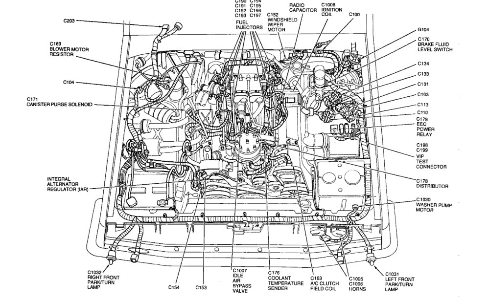 medium resolution of 1994 ford e350 engine diagram wiring diagram datasource ford e350 engine diagram
