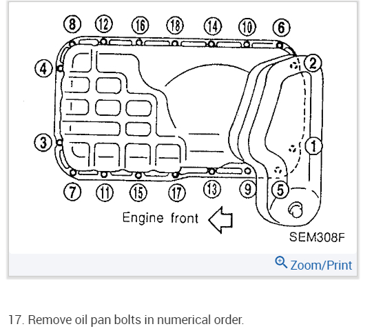 Oil Pan: I Need to Change the Oil Pan on My 2002 Frontier