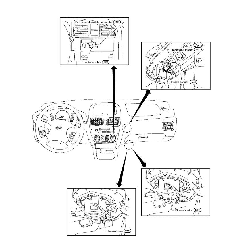 Blower Motor Resistor: I'm Trying to Locate Where the