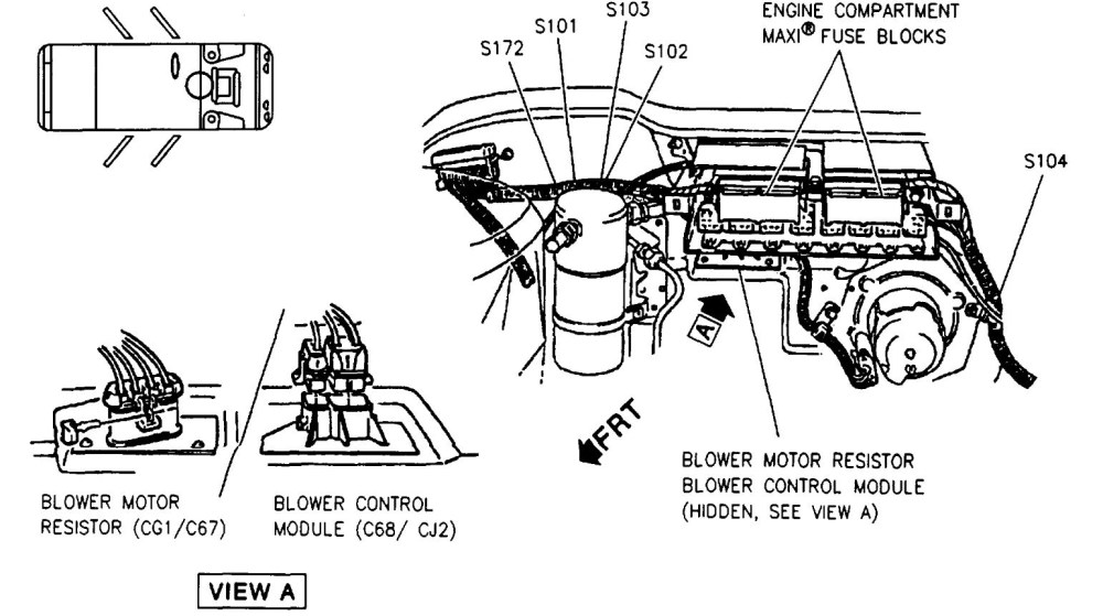medium resolution of fuse box my car is used and the only owners manual with the car 1996 pontiac bonneville fuse box diagram