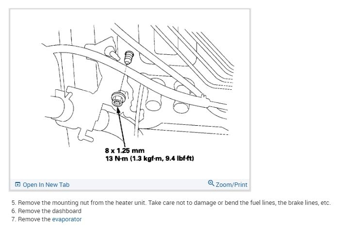 Replacing Heater Core: Instructions on How to Replace the