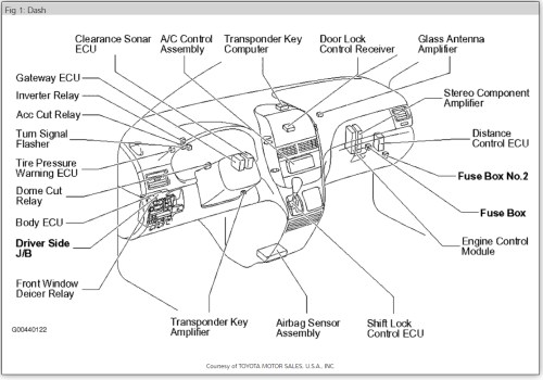 small resolution of 2006 toyota sienna airbag fuse box 2013 wiring diagram rowswrg 1641 2006 toyota sienna airbag