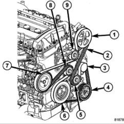 2007 Dodge Caliber Alternator Wiring Diagram 93 Chevy Truck Radio Srt 4 Serpentine Belt Best Library I Had To Replace The Plus Put Rh 2carpros Com 2008