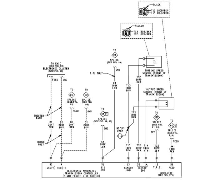 A604/41TE Wiring Diagram: My Mom's Car Has Been Into the