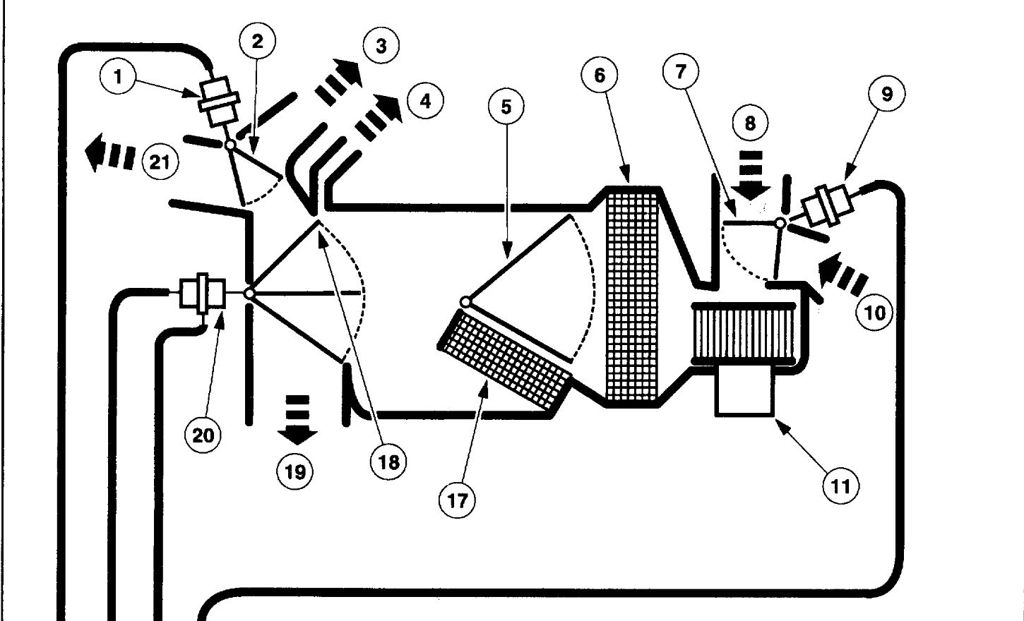 hight resolution of heater not working my f 150 is not putting out the heat that it ford f 150 vacuum hose diagram besides ford f 150 heater hose diagram