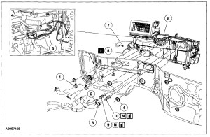 2004 Ford Expedition Heater Core Diagram   Wiring Diagram