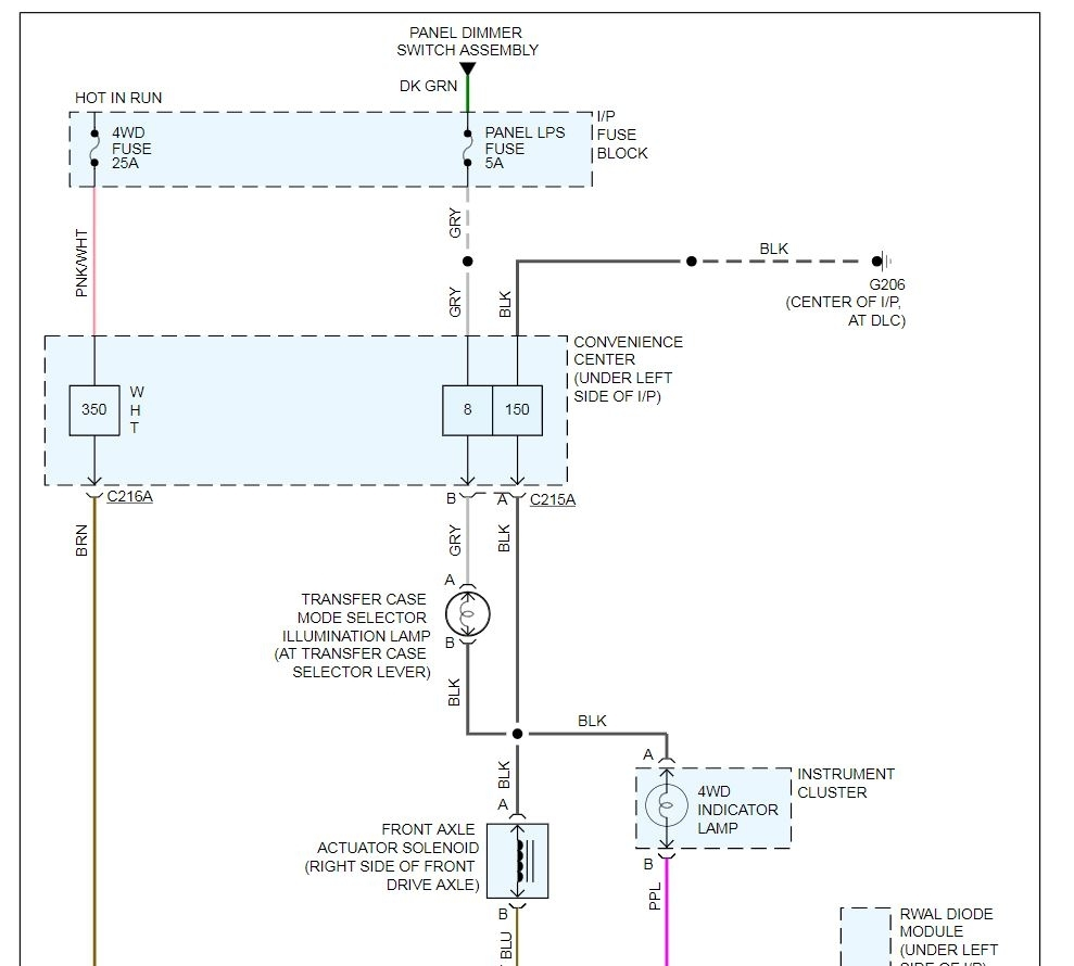 hight resolution of wiring diagram for your 4wd system is attached below images click to enlarge