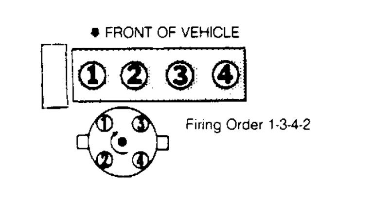 Firing Order for Spark Plugs: I Have a 1993 Eagle Talon