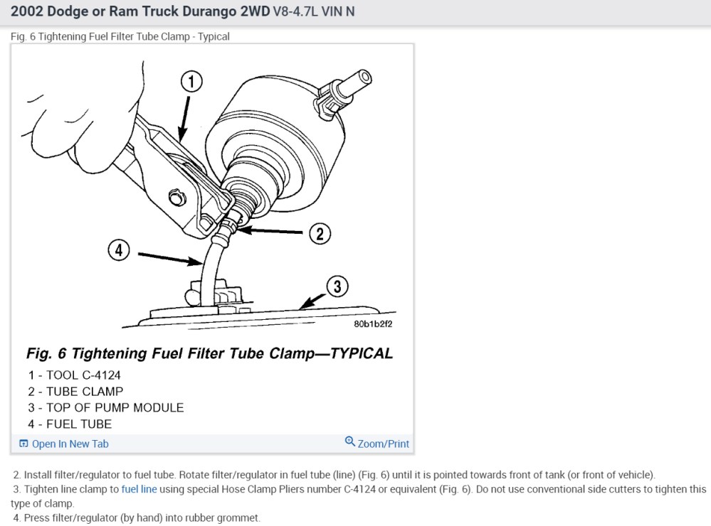 medium resolution of fuel filter where is the fuel filter on this vehicle durango fuel filter 9