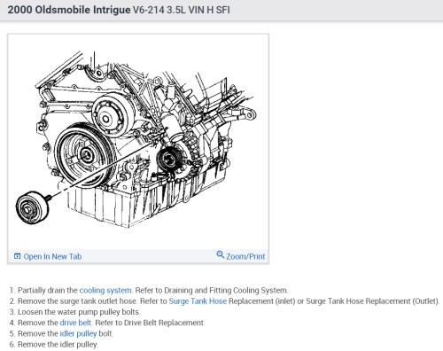 small resolution of 2000 intrigue engine coolant diagram data diagram schematic 2000 intrigue engine coolant diagram