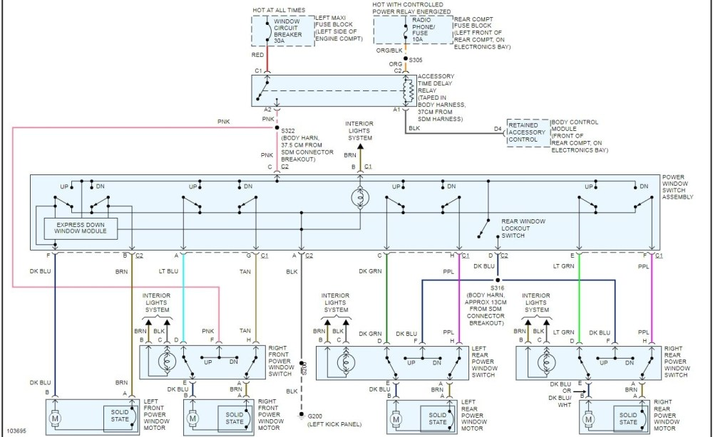 medium resolution of 2000 escalade window wiring diagram wiring diagram center 2000 escalade window wiring diagram