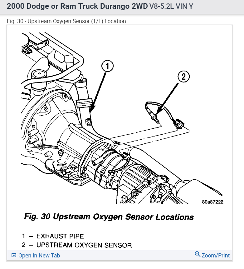 [DIAGRAM] O2 Sensor Wiring Diagram Dodge Dakota FULL