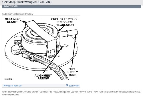 small resolution of location of fuel filter i think i need to replace the fuel filter1999 wrangler fuel filter