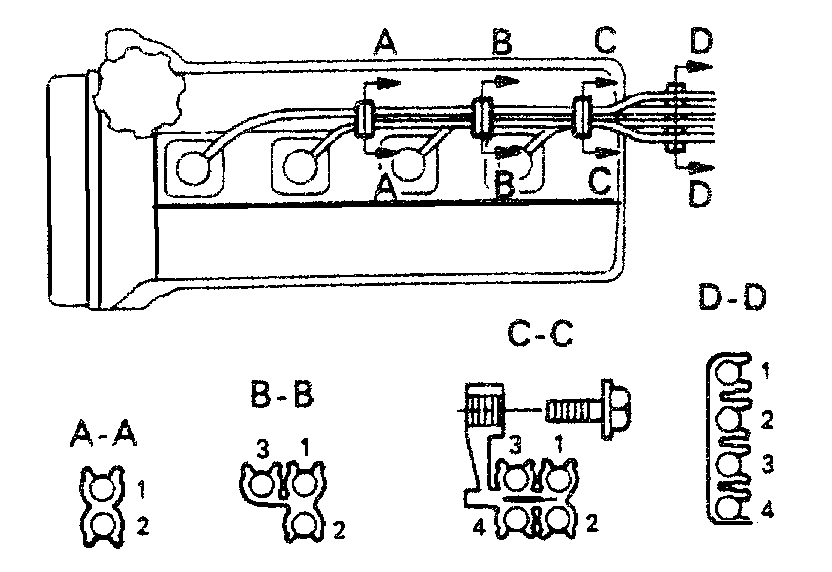 Location of the Camshaft Position Sensor: Trying to