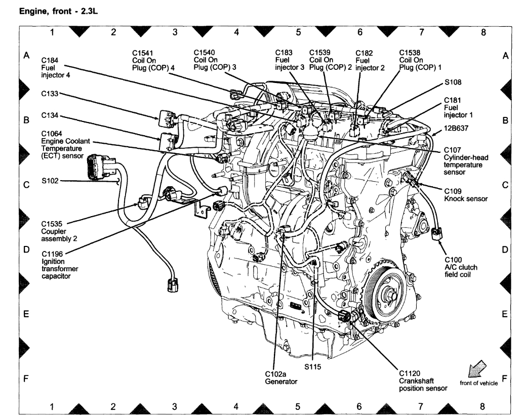 hight resolution of coolant temperature sensor location need to know where2007 mercury milan engine diagram 19