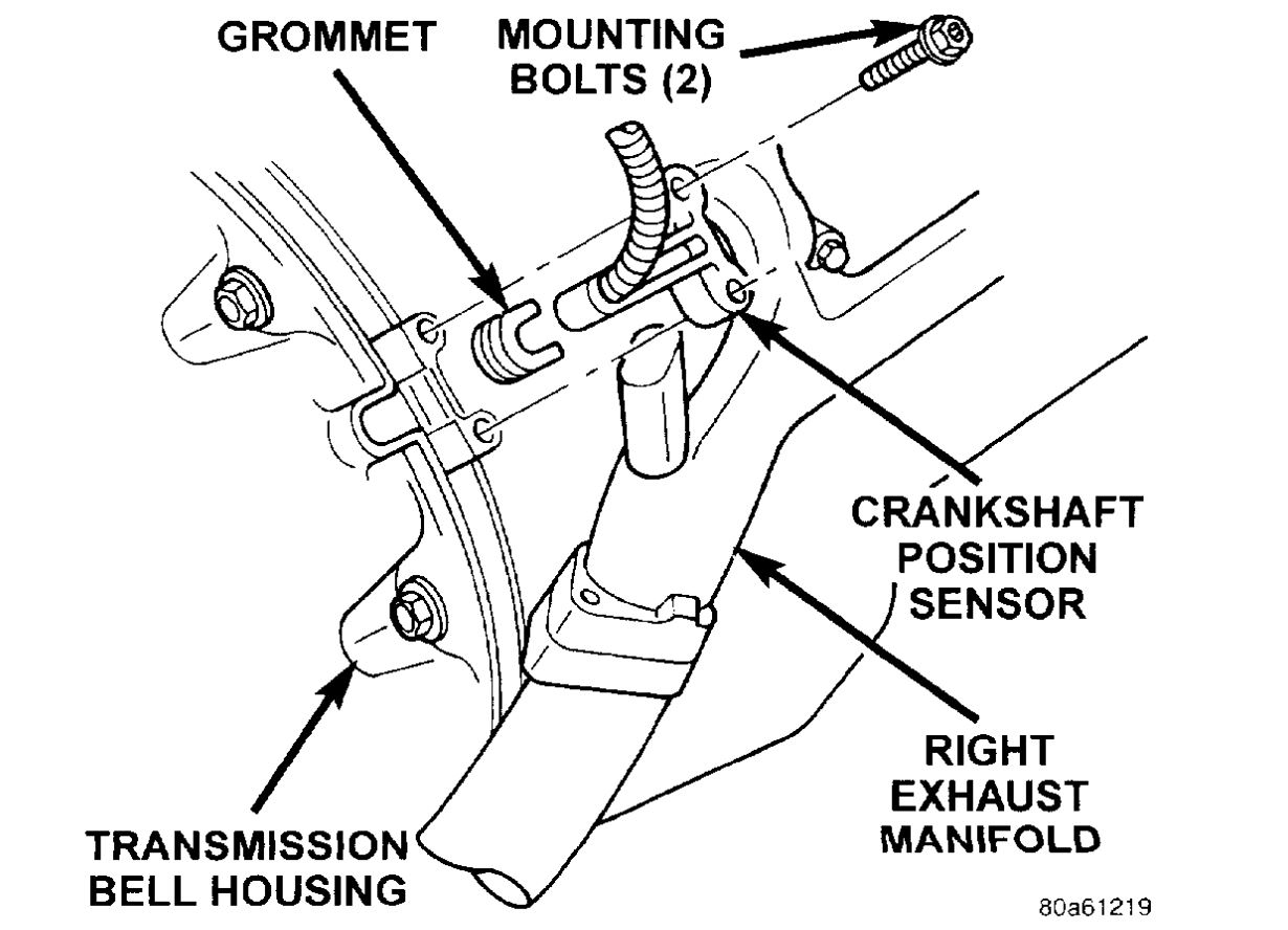 Crank Sensor Replacement: Replacing Crankshaft Position Sensor