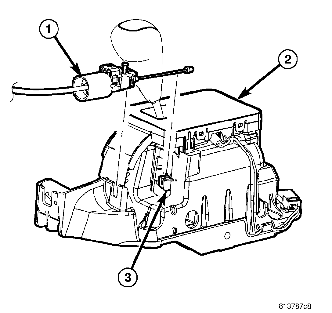 Gear Shifter Gets Stuck in Park: the Gear Shifter in the