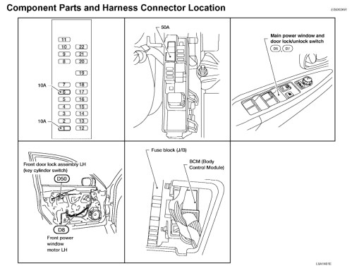 small resolution of my power windows and locks stopped 2012 nissan altima engine diagram