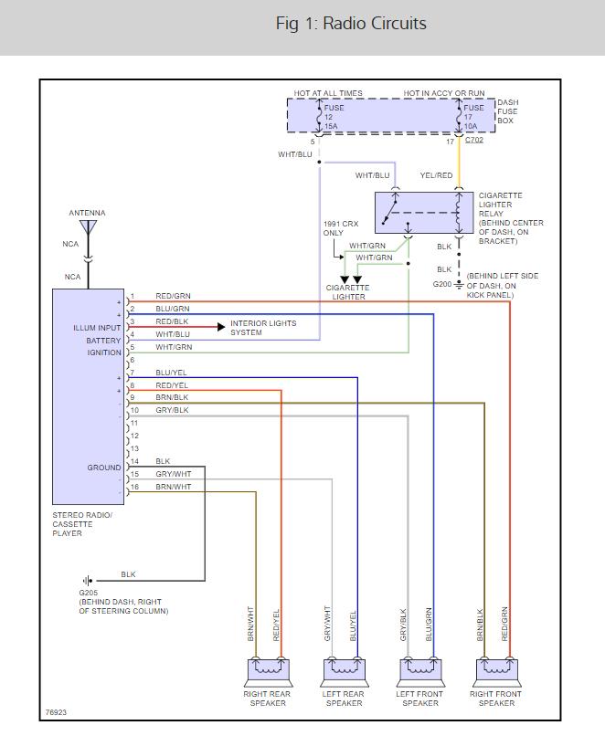 91 honda civic wiring diagram  1994 chevy van fuse box  vw