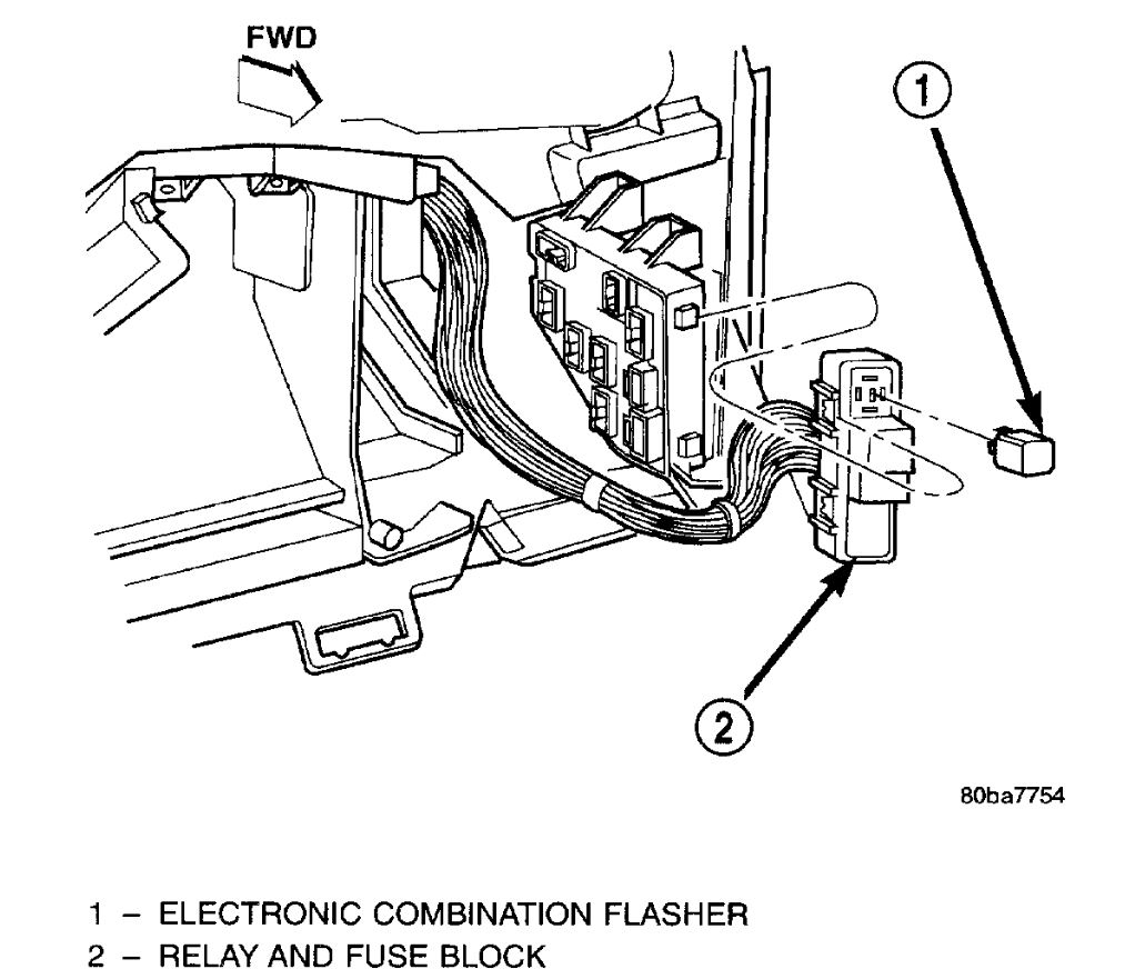 Turn Signal Flasher Where Is The Turn Signal Flasher