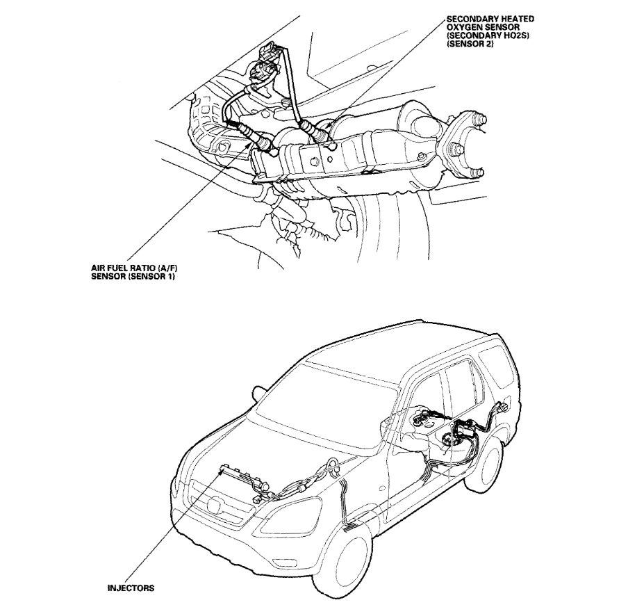 hight resolution of diagram further honda cr v o2 sensor location on honda civic o2 02 sensor location and