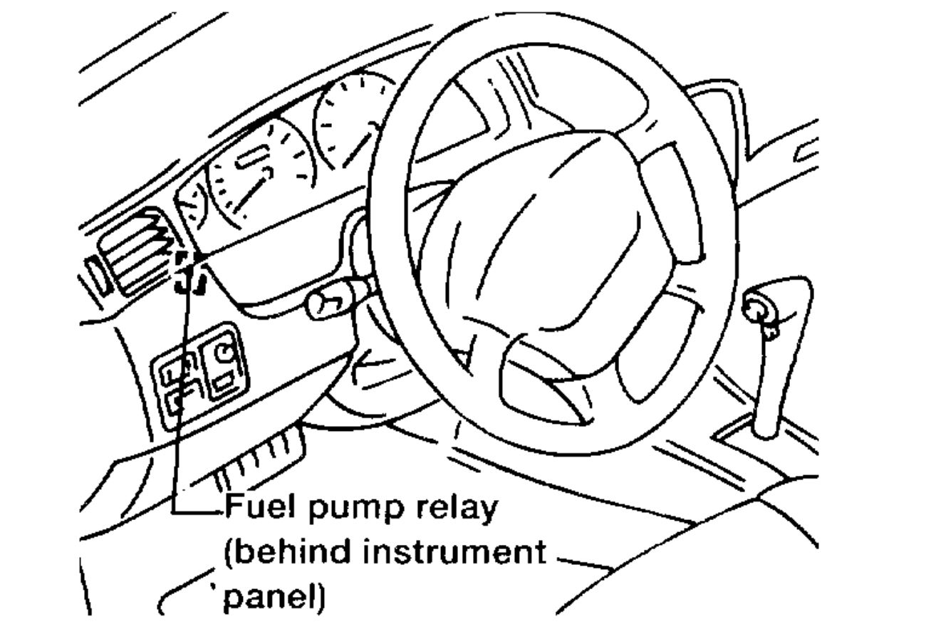Nissan Stanza Fuel Line Diagram