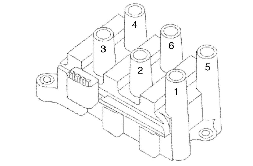 medium resolution of ford f 150 4 2l spark plug wire diagram wiring diagram review 150 coil pack firing order on 2005 ford taurus ignition coil diagram