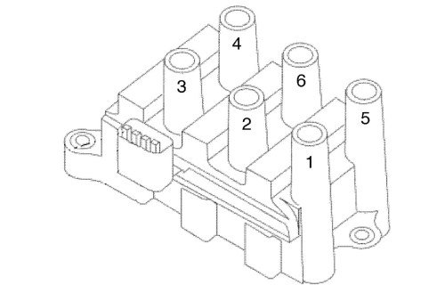 small resolution of ford f 150 4 2l spark plug wire diagram wiring diagram review 150 coil pack firing order on 2005 ford taurus ignition coil diagram