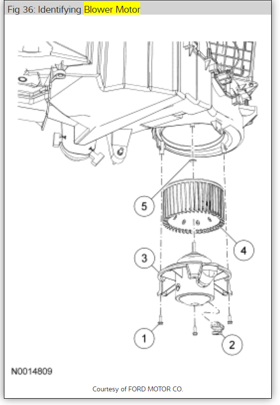 Circuit Electric For Guide: 2007 F150 Fuse Diagram Blower