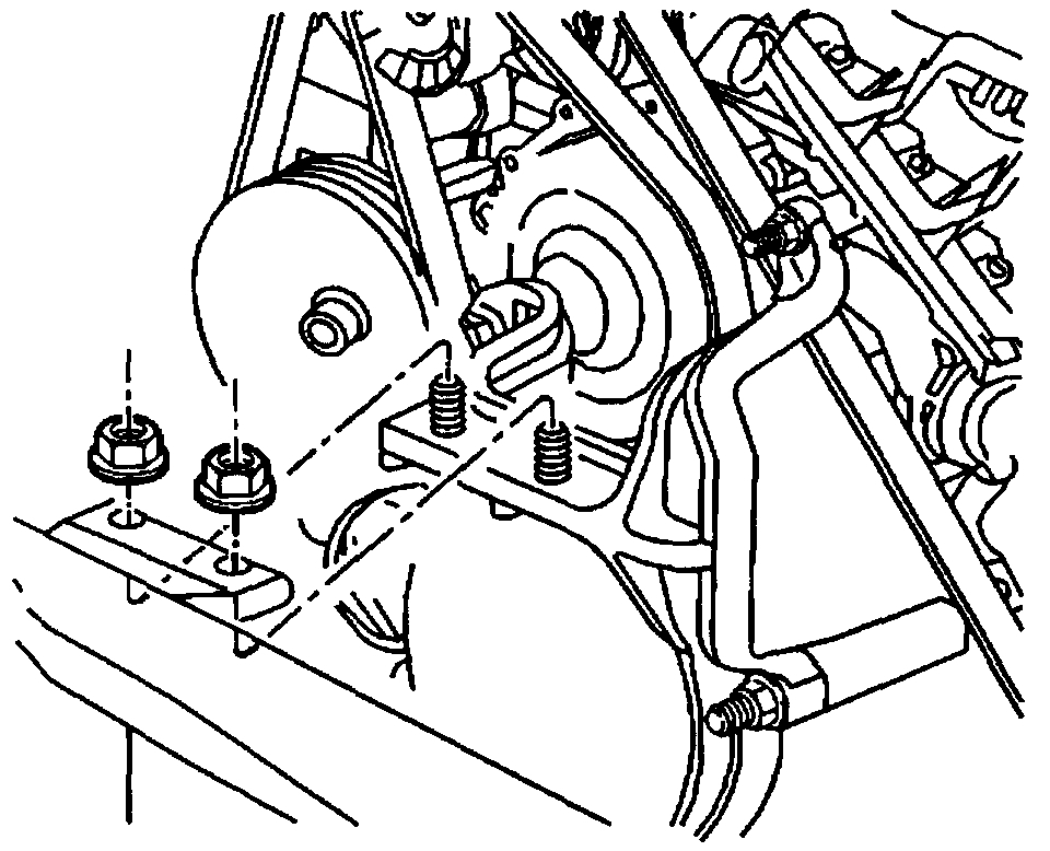 Is the Tension on a 3800 Motor Serpentine Belt Adjustable