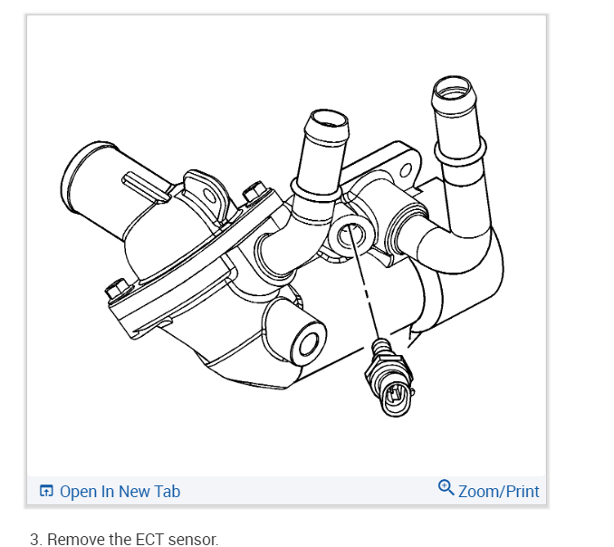 Coolant Sensor Location: I Cant Find the Location of the