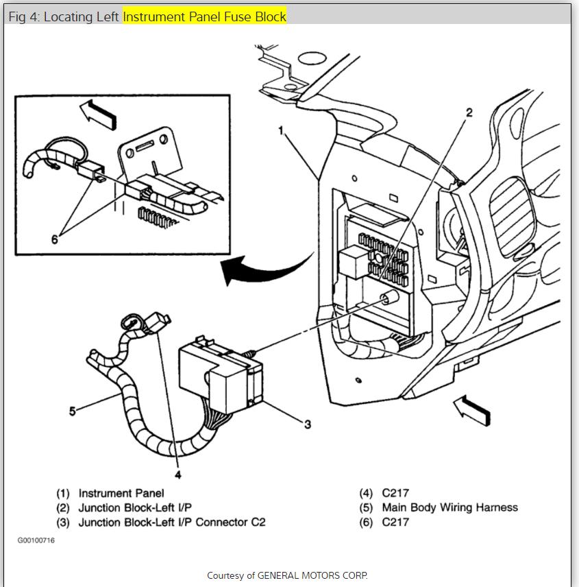 2008 Chevrolet Impala Tail Light Wiring Diagram Free