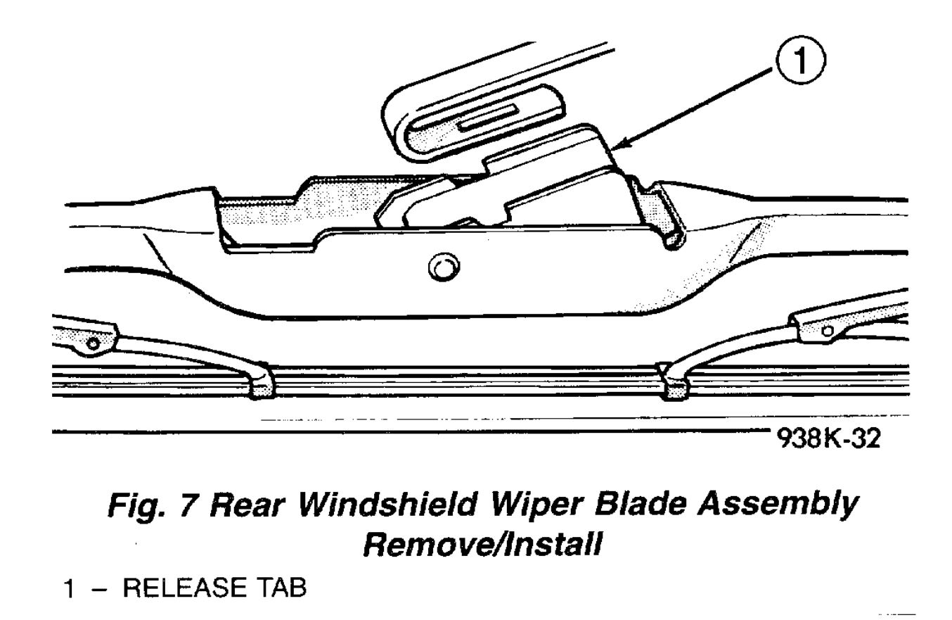 Changing Rear Wiper Blade: Do You Have a Video Showing How