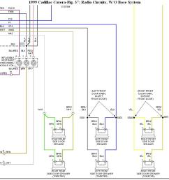 cadillac catera radio wiring diagram schematic diagrama cut harness on the radio harness of a 99 [ 1268 x 861 Pixel ]