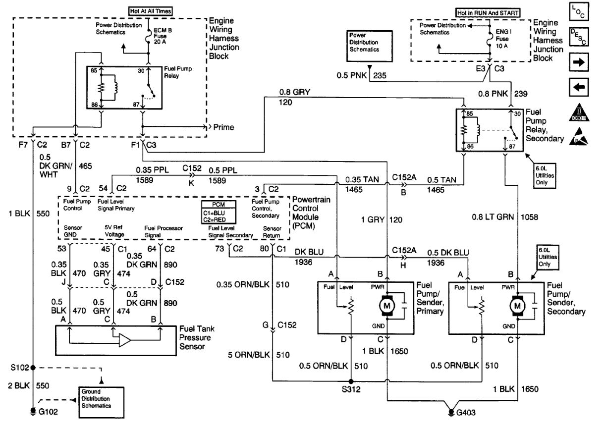 Complete Fuel Pump Diagram: I Can't Find a (COMPLETE )Fuel...