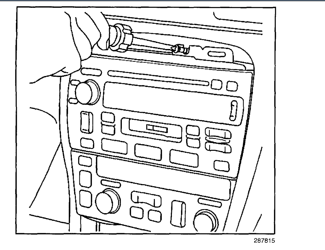 Radio Removal How Do I Remove Factory Radio From Console