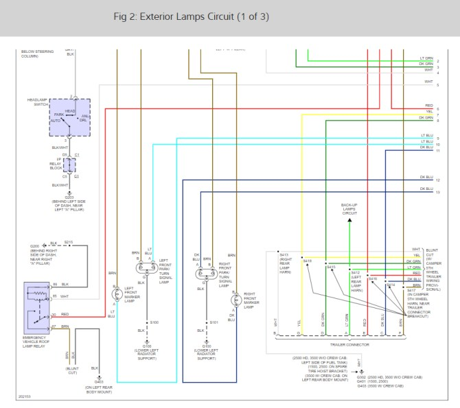 2005 chevy silverado 4wd wiring diagram  international