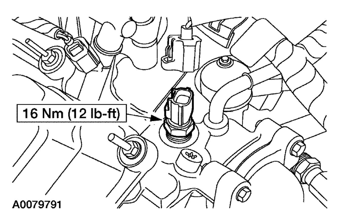 Engine Coolant Sensor Location Please Where Is The Engine