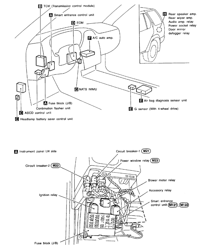 [DIAGRAM] 1990 Nissan Pathfinder Wiring Diagram FULL
