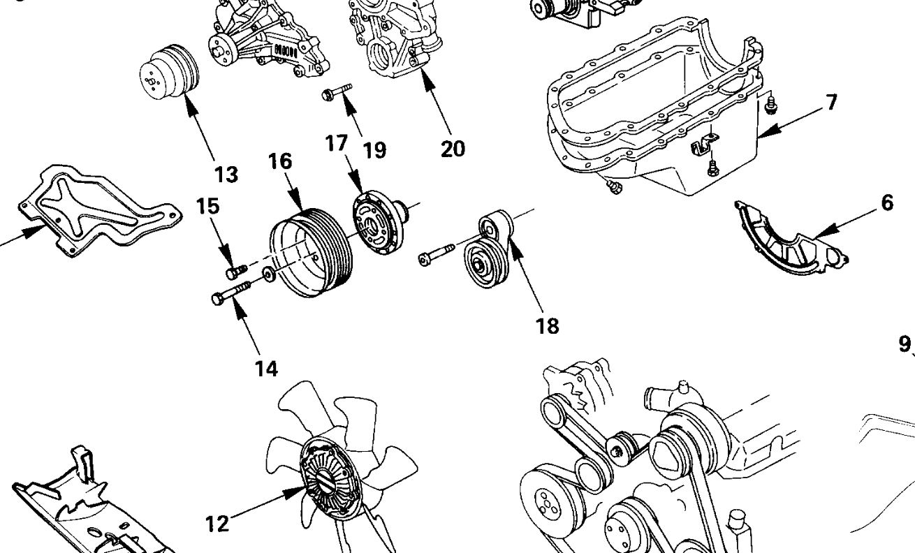 Isuzu Rodeo Question Belt Tensioner How Do You