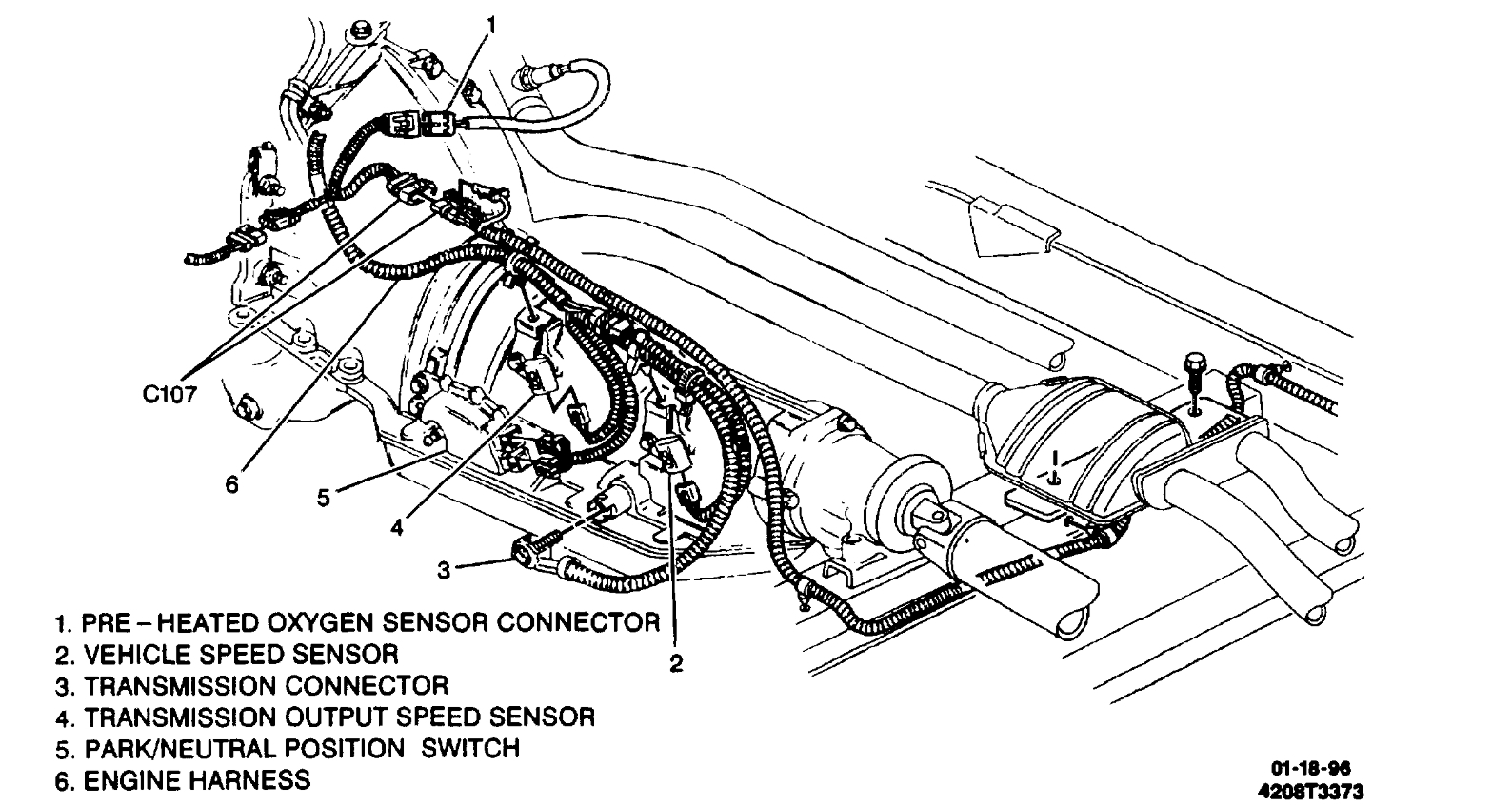 Vehicle Speed Sensor Where Is The Vehicle Speed Sensor